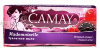 КАМЕЙ мыло-КУСКОВОЕ Мадмуазель (аромат сладких ягод) 100гр *6*72