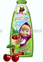 Маша и Медведь Гель для душа и пена для ванн 2в1 Сочная черешня, 240мл 6*24