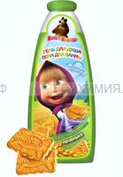 Маша и Медведь Гель для душа и пена для ванн 2в1 Печенька, 240мл 6 *24 -1