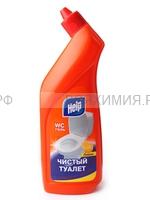ХЕЛП Чистящий гель для сантехники Лимон 750 мл 6 *12