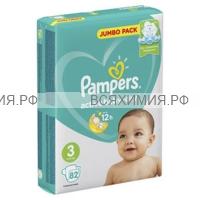 Памперс Active Baby миди (6-10) 82шт. *1*8