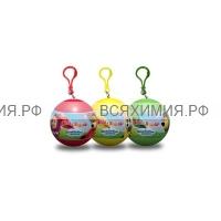 МиМ Дождевик – пончо в шаре рост 110 красный (110*98*30) *5*25