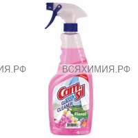 Camsil Floral КУРОК Cредство для мытья СТЕКОЛ 1000мл *6*12