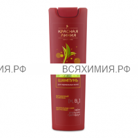 Красная Линия Шампунь ЭНЕРГИЯ СВЕЖЕСТИ для нормальных волос 250 гр 6*12