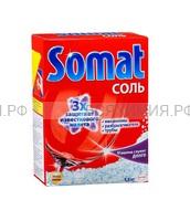 СОМАТ Соль для посудомоечных машин 1500 гр *3*6*
