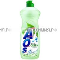 АОС Средство для мытья посуды 450 мл. УЛЬТРА ГРИН 10*20*
