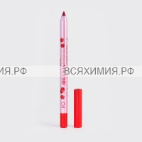 VS Карандаш для губ устойчивый гелевый «Le grand volume» тон 04(красный)