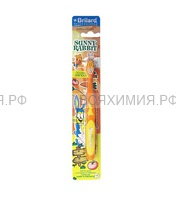 Зубная щетка BRILARD Детская SUNNY RABBIT особо мягкая щетина *12 *144