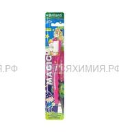 Зубная щетка BRILARD Детская MAGIC (мягк.) *12 *144