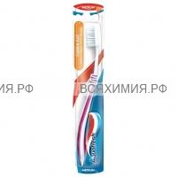 Зубная щетка Аквафреш Clean & Flex (чистота и гибкость) *12